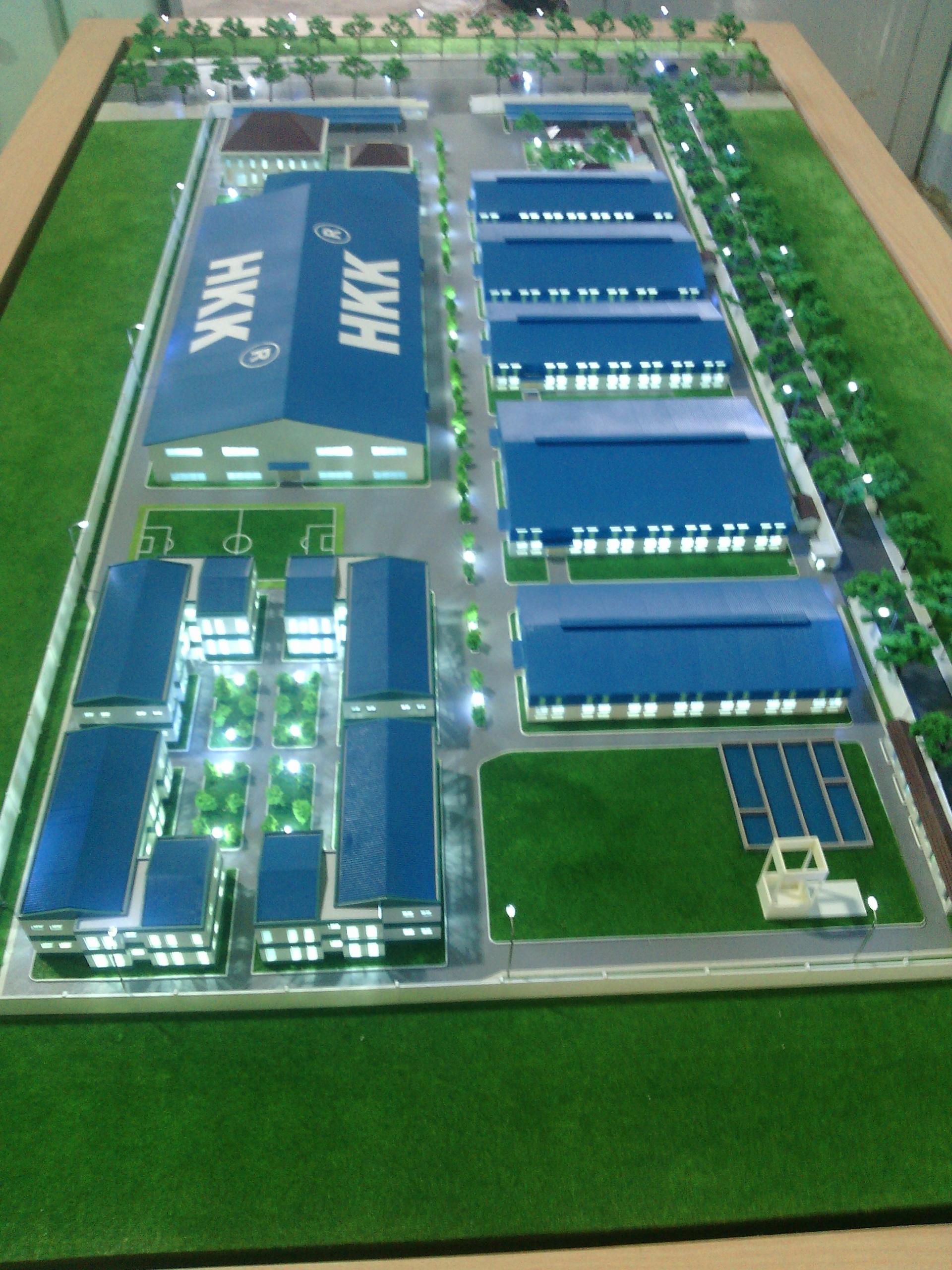Mô hình nhà máy